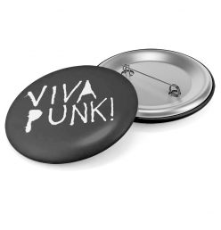 Viva Punk Button Logo