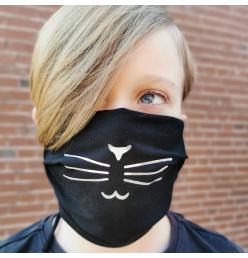 Mund- u. Nasenmaske, Katze
